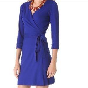 Diane von Furstenberg Julian Wrap Mini Dress
